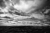 Laki, Or Lakagigar, Is a Volcanic Fissure in Iceland, Under Heavy Clouds Photographic Print by Jonathan Irish