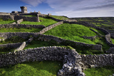 Castle O'Brian and Ancient Stone Walls on the Island of Inisheer Photographic Print by Jim Ricardson