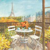 September in Paris Crop Poster by Danhui Nai