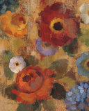 Jacquard Floral II Prints by Silvia Vassileva