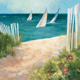 Regatta II Square Prints by Julia Purinton