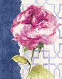 Antique Floral on White II Art by Wild Apple Portfolio