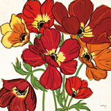 Sweet William Crop Prints by Kate Rowley