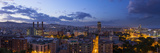 A Stitched Panorama of Barcelona, Spain, From the Mirador on Monjuic Photographic Print by Stephen Alvarez