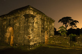 Fort San Lorenzo Under a Starry Night Sky in Panama Photographic Print by Jonathan Kingston