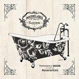 French Bath II - Tub Posters par Stefania Ferri