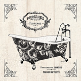 French Bath II - Tub Posters by Stefania Ferri
