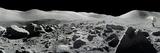 NASA - An Apollo 17 Composite Photograph at Station 5 Shows a Stretch of Rock-strewn Moon Features - Fotografik Baskı