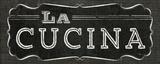 La Cuisine Chalk III Poster van  Pela