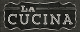 La Cuisine Chalk III Poster von  Pela