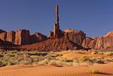 Warm Sunlight on the Rock Formation Totem Pole Photographic Print by Derek Von Briesen