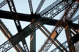 Detail of the Sydney Harbour Bridge Photographic Print by Jill Schneider
