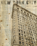 Vintage NY Flat Iron Prints by Michael Mullan