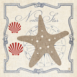 Pacific Starfish Prints by Sarah Mousseau