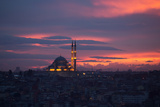 The Fatih Mosque at Sunset Photographic Print by Alex Saberi