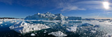 Iceberg Fields Near Ilulissat Photographic Print by Raul Touzon