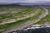 Ancient Stone Walls Pattern Inishmaan Enveloped in the Atlantic Photographic Print by Jim Richardson