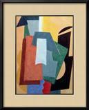 Summer, 1917-18 Framed Giclee Print by Liubov Sergeevna Popova