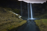 The 200 Foot Tall Seljarlandsfoss Waterfall Photographic Print by Raul Touzon