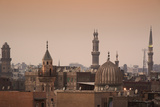 Minarets and Mosques of Cairo at Dusk Photographic Print by Alex Saberi