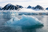 Ice Flow An Arctic Waters Fronting Lilliehook Glacier Photographic Print by Sergio Pitamitz