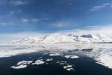 Monaco Glacier and Its Mirror Reflection on Arctic Waters Photographic Print by Sergio Pitamitz