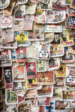 A Wall of Cloth Patches with Political Slogans on Them, Yangshuo, China Photographic Print by Jonathan Kingston