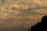 The Evening Sky with An Undulus Asperatus Cloud Formation Photographic Print by Richard Olsenius