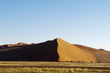 Red Sand Dunes Against a Bright Blue Sky in the Sossusvlei Photographic Print by Sergio Pitamitz