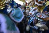 Carnival in the City of La Vega Fotografisk tryk af Raul Touzon