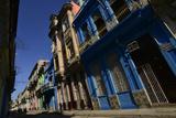 Sunlit Buildings in Old Havana Fotografisk tryk af Raul Touzon