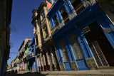 Sunlit Buildings in Old Havana Photographic Print by Raul Touzon