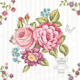 Elegant Roses II Art by Stefania Ferri