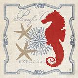 Pacific Seahorse Posters by Sarah Mousseau