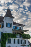 Close Up of a Swiss Home in the Morning Reproduction photographique par Greg Dale