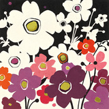 Flower Power II Print by Shirley Novak