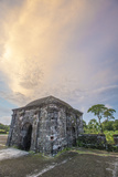 Pastel Sunset Over a Guard Tower, Fort San Lorenzo, Colon, Panama Photographic Print by Jonathan Kingston