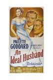 """Oscar Wilde's An Ideal Husband, 1947, """"An Ideal Husband"""" Directed by Alexander Korda Giclee Print"""
