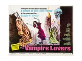 The Vampire Lovers, 1970, Directed by Roy Ward Baker Giclee Print