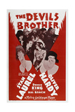"""Fra Diavolo, 1933, """"The Devil's Brother"""" Directed by Charley Rogers, Hal Roach Giclee Print"""