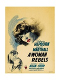 A Woman Rebels, 1936, Directed by Mark Sandrich Giclee Print