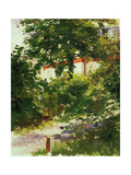 A Corner of the Garden In Rueil, 1882 Giclee Print by Edouard Manet