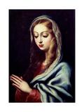 Virgin Mary, 17th Century, Spanish Baroque Giclee Print by Pedro Atanasio Bocanegra