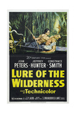 "Cry of the Swamp, 1952, ""Lure of the Wilderness"" Directed by Jean Negulesco Giclee Print"