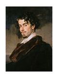 Portrait of Gustavo Adolfo Becquer, 1862 Giclee Print by Valeriano Becquer