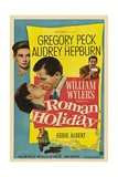 Roman Holiday, 1953, Directed by William Wyler Giclée-tryk