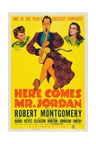 Here Comes Mr. Jordan, 1941, Directed by Alexander Hall Giclee Print