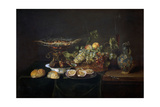Table, 1646, Flemish School Giclee Print by Frans Ykens