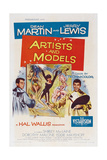 Artists And Models, 1955, Directed by Frank Tashlin Gicleetryck