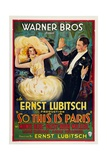 So This Is Paris, 1926, Directed by Ernst Lubitsch Giclee Print